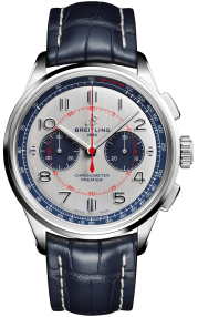 Breitling Premier B01 Chronograph 42 Bentley Mulliner Limited Edition Steel - Silver AB0118A71G1P1