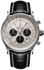 Breitling Navitimer B03 Chronograph Rattrapante 45 Steel - Silver AB0310211G1P2