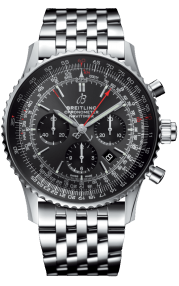 Breitling Navitimer B03 Chronograph Rattrapante 45 Boutique Edition Steel - Stratos Gray AB03102A1F1A1