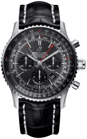 Breitling Navitimer B03 Chronograph Rattrapante 45 Boutique Edition Steel - Stratos Gray AB03102A1F1P1