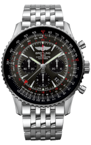 Breitling Navitimer B04 Chronograph GMT 48 Steel (Limited) - Stratos Gray AB04413A/F573/453A