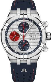 Maurice Lacroix Aikon Automatic Chronograph LE Mahindra Racing AI6038-SS001-133-4