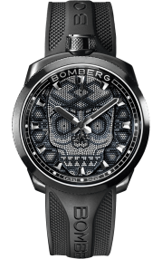 Bomberg Bolt-68 Skull Pearl Black 45mm BS45H3PBA.SKP-3.3