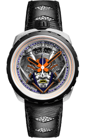 Bomberg Bolt-68 Samurai Vintage Black 45mm Limited Edition BS45ASP.042-1.3