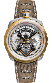 Bomberg Bolt-68 Samurai Gold 45mm Limited Edition BS45ASPG.042-2.3