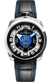 Bomberg Bolt-68 Steel & Blue Sapphire 45mm BS45ASS.045-1.3