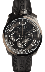 Bomberg Bolt-68 Black Quartz Chronograph 45mm BS45CHPBA.012.3