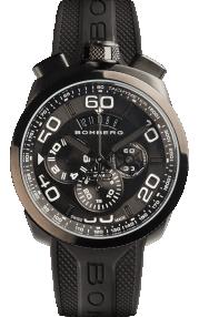 Bomberg Bolt-68 Black Quartz Chronograph 45mm BS45CHPBA.012.3