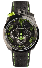 Bomberg Bolt-68 Black & Green Chronograph 45mm BS45CHPBA.013.3