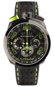 Bomberg Bolt-68 Black & Green Chronograph 45mm BS45CHPBA.013.3