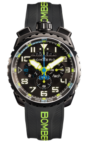 Bomberg Bolt-68 Neon V2 Green 45mm BS45CHPBA.050-10.3