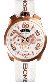 Bomberg Bolt-68 Neon White 45mm BS45CHPG.032.3