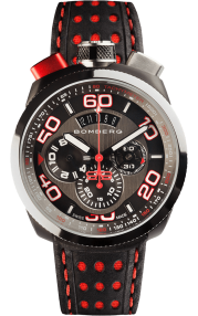 Bomberg Bolt-68 Black & Red Quartz Chronograph 45mm BS45CHSP.011.3