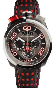 Bomberg Bolt-68 Black & Red Quartz Chronograph 45mm BS45CHSP.011.3