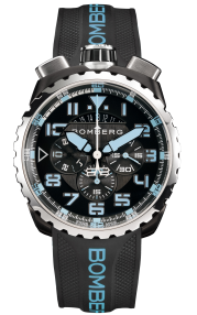 Bomberg Bolt-68 Neon V2 Blue 45mm BS45CHSP.050-12.3