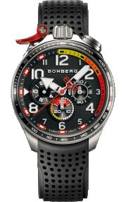 Bomberg Bolt-68 Racing Black & Red BS45CHSP.059-2.10