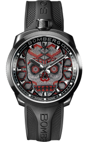 Bomberg Bolt-68 Skull Pearl 45mm Red BS45H3PBA.SKP-2.3