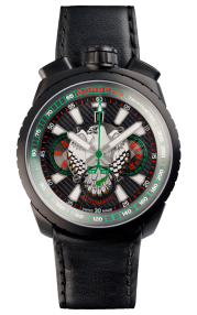 Bomberg Bolt-68 Falcon Black Automatic Chronograph 47mm Limited Edition BS47CHAPBA.025-3.3