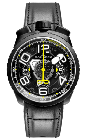 Bomberg Bolt-68 Black & Yellow Automatic Chronograph 47mm BS47CHAPBA.041-6.3