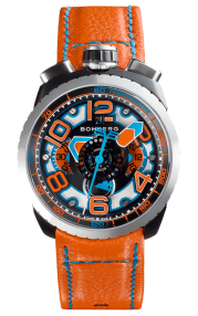 Bomberg Bolt-68 Orange Automatic Chronograph 47mm BS47CHASP.041-4.3