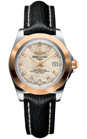 Breitling Galactic 32 Sleek Steel & Rose Gold - Mother-Of-Pearl C7133012/A802/208X/A14BA.1