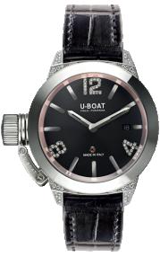 U-BOAT Precious Classico 40 SS White Diamonds 6950