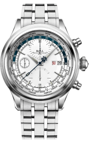 Ball Trainmaster Worldtime Chronograph CM2052D-S1J-SLBE