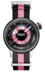 Bomberg BB-01 Pink & Black Lady 38mm CT38H3PBA.05-2.9