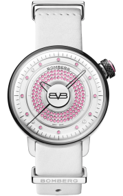 Bomberg BB-01 Lady Skylighter Pink & White CT38H3SS.12-1.9