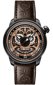 Bomberg BB-01 Automatic Mariachi Skull Limited Edition CT43ASPGD.24-1.11