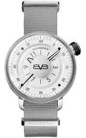 Bomberg BB-01 White & Silver Gent 43mm CT43H3SS.02-2.9