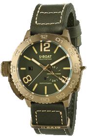 U-BOAT Classico Doppiotempo 46 Bronzo GR 9088