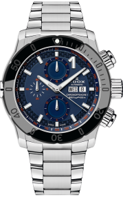 Edox CO-1 Chronograph Automatic 01122-3NM-BUINO