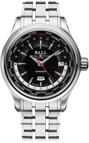 Ball Trainmaster Worldtime GM2020D-S1CJ-BK