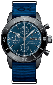 Breitling Superocean Heritage Chronograph 44 Outerknown Black Steel - Blue M133132A1C1W1