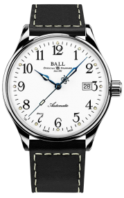 Ball Trainmaster Standard Time 135 Anniversary NM3288D-LBKJ-WH