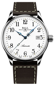 Ball Trainmaster Standard Time 135 Anniversary NM3288D-LBRJ-WH