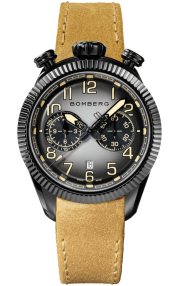 Bomberg BB-68 Smoked Black Chronograph Gent 44mm NS44CHPBA.200.9