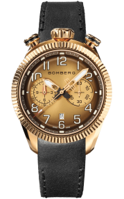 Bomberg BB-68 Smoked Brown Chronograph Gent 44mm NS44CHPPK.202.9