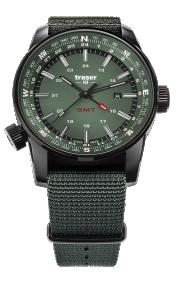 Traser P68 Pathfinder GMT Green 109035