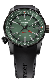 Traser P68 Pathfinder GMT Green 109744