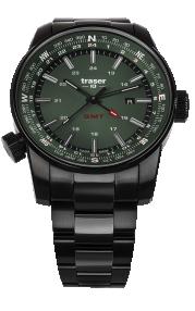 Traser P68 Pathfinder GMT Green 109525