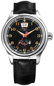 Ball Trainmaster Cleveland Express Power Reserve PM1058D-L1J-BK