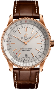 Breitling Navitimer Automatic 41 18k Red Gold Silver 18k Red Gold Silver R17326211G1P1
