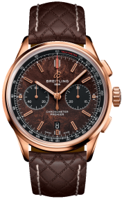 Breitling Premier B01 Chronograph 42 Bentley Centenary Limited Edition 18K Red Gold - Brown RB01181A1Q1X1