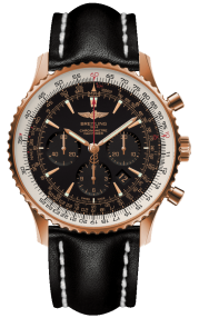 Breitling Navitimer 01 (46 mm) Red Gold (Limited) - Black/Gold RB0127E6/BF16/441X/R20BA.1