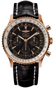 Breitling Navitimer 01 (46 mm) Red Gold (Limited) - Black/Gold RB0127E6/BF16/760P/R20BA.1