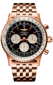 Breitling Navitimer B03 Chronograph Rattrapante 45 Red Gold (Limited) - Black RB031121/BG11/443R