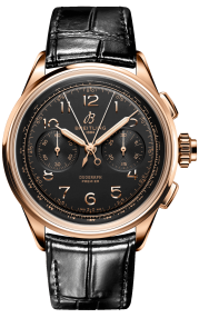 Breitling Premier B15 Duograph 42 18k Red Gold - Black RB1510251B1P1