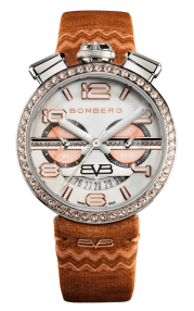Bomberg 1968 Orange Chronograph Lady 40mm RS40CHSS.25B.3